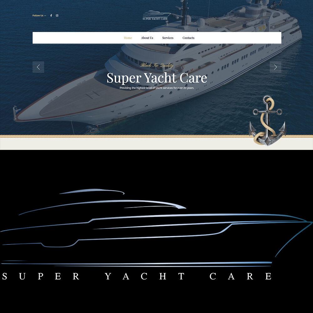 SUPER YACHT CARE - Website